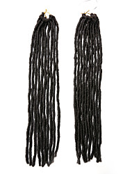 Faux Locs  Brown Color 4 Synthetic Hair Crochet Braids 18inch Kanekalon 24 Strands 90g