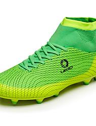 / chaussures de sport pour hommes / femmes / garçon printemps été automne hiver confort pu extérieur athlétique vert bleu soccer orange