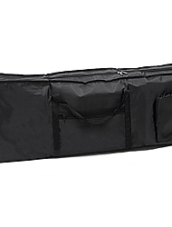 Electric 61 Key Keyboard Piano Organ Carry Bag Case Portable Black
