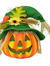 1шт Хэллоуин тыква чучело торговый центр для детского сада тыквы мило тыква пугало