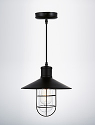 Max 60W Vintage / Retro Mini Style / Bulb Included Painting Pendant LightsLiving Room / Bedroom / Dining Room / Kitchen / Study