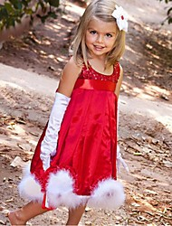 Sequin Red Sleeveless Flower Girl Dresses Pageant Dresses For Girls Party Dress Halloween dress Vestidos
