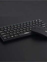 2.4GHz Wireless Multimedia Keyboard and Wireless Mouse Kit for Desktop Laptop PC Computer
