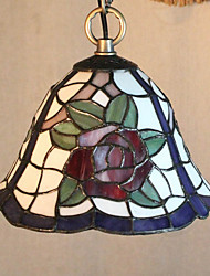 25W Pendant Light   Traditional/ Tiffany / Country Painting Feature for Mini Style Metal Living Room /