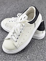 Unisex Sneakers Spring / Fall Flats PU Athletic / Casual Flat Heel Others White Sneaker