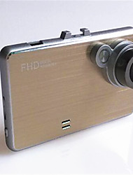 Drive Recorder HD 1080P Wide-Angle Ultra-Thin Metal Wire Drawing Shell