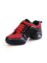 Homme-Extérieure / Décontracté-Noir-Talon Plat-Bout Fermé-Sneakers-Tulle