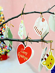 14pcs/lot  Christmas Hangings Drawing  Christmas Card Christmas Gift Christmas Tree Decoration