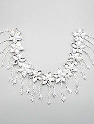 Women's Crystal / Alloy / Imitation Pearl Headpiece-Wedding / Special Occasion Headbands 1 Piece Clear