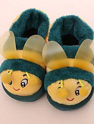 Unisex Slippers & Flip-Flops Winter Comfort / Round Toe Fleece Casual Flat Heel Animal Print  Others