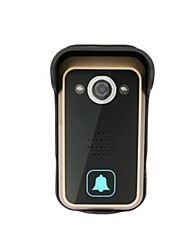 Dynamic Monitoring 3G 4G WiFi Connection No Radiation Low Power Consumption Waterproof Anti-Theft Intercom Doorbell
