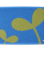 Коврики для ванны-синий / зеленый-ПВХ-45*58cm