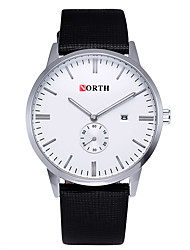 Mens Watches Hombre Watches New Date Day Genuine Leather Strap Men Quartz Watches Wristwatch Classic Clock Relojes