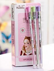 Pure Love Black Ink Gel Pen Set 12 PCS