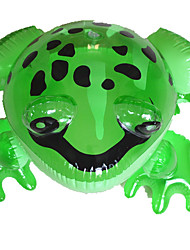 Water/Sand Inflatable Outdoor Toy Frog / / PVC / Plastic Green For Kids All
