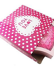 100 Seife Blumenkasten Geschenk-Box-Verpackung gewidmet große Geschenk-Box 45 * 45 * 5