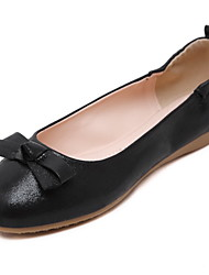 Women's Flats Spring / Summer / Fall / Winter Basic Pump / Creepers / Ankle Strap / Styles / Round ToePU / Cowhide /