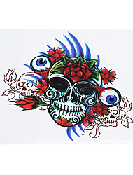 1pc Temporary Women Men Body Leg Art Tattoo Sticker Skull Eye Ball Rose Flower Tattoo Accessories HB-245