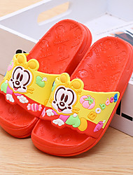 Unisex Sandals Summer PVC Casual Flat Heel Others Blue Yellow Pink Red Coral Royal Blue Other