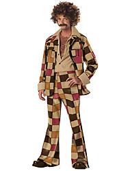 Costumes de Cosplay Déguisements Thème Film/TV Fête / Célébration Déguisement d'Halloween Géométrique Haut Pantalon Plus d'accessoires