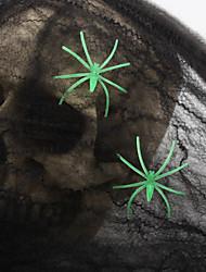 5PCs magia prop stampa puntelli decorativi halloween ragno cotone web in maschera costumi di Halloween del partito