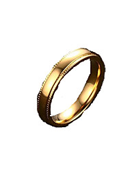Bandringe Statementringe Edelstahl vergoldet 18K Gold Schmuck Modisch Golden Schmuck Alltag Normal 1 Stück