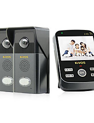 KiVOS KDB303 Wireless Video Doorbell  Door Bell Two Remote Camera Phone Call