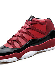 Men's Sneakers Spring / Fall Comfort PU Athletic / Casual Flat Heel Black / Black and Red / Black and White Basketball