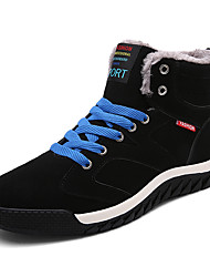 Men's Winter Fashion Shoes Spring / Fall / Winter Comfort Outdoor / Athletic / Casual Keep Warm  Cotton Shoes EU Size 39-45