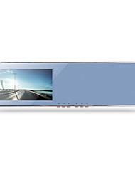 Dual Lens HD Night Vision 1080p Parking Monitoring Car Backing Image Mirror Driving Recorder