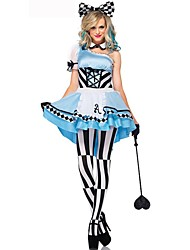 Adult Alice in Wonderland Costume For women Adlut Alice Cosplay Costumes Fantasy Fancy Dress Women Party Dress