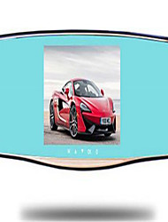 Car Rearview Mirror High-Definition Night Vision 1080p Dual-Lens Drive Recorder Rear View