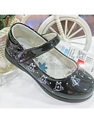 Women's Sneakers Fall Flats Suede Dress / Casual Low Heel Magic Tape Black / Pink / White Walking