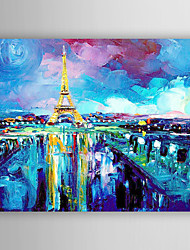 Oil Painting Impression Landscape Hand Painted Canvas Painting with Stretched Framed Ready to Hang