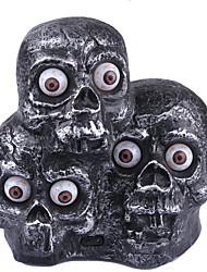 1шт Хэллоуин статьи обеспечения террористических музыка демон фары индукционные огни светящиеся глаза три призраки