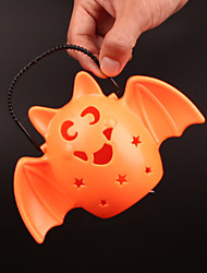 1pc hallowmas retro interessantes natal conveniente lâmpada de abóbora flash LED música lâmpada bat