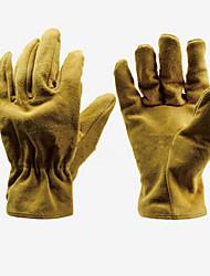 la main-d'œuvre à court cuir wei soudage gants de soudage de protection coupe-résistant anti-dérapant taille de manutention l