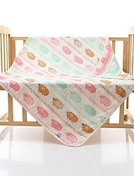 1 PC Full Cotton Bath Towel 43 by 43 inch Cartoon Pattern Strong Water Absorption Capacity