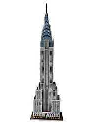 3D Model Puzzle Jigsaw Chrysler Building Educational DIY Toy