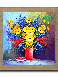 Pintada a mano Abstracto / Famoso / Paisaje / Naturaleza muerta / Fantasía / Floral/Botánico / Paisajes Abstractos Pinturas de óleo,