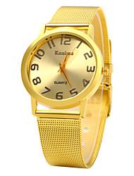 Kanima Luxury Wristwatch Golden Case Quartz Ladies Watch