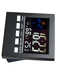 The New Voice With Time Hygrometer Weather Station Thermometer