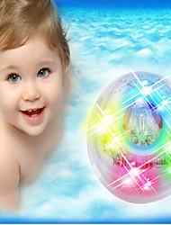 bain de lumière de la lumière de bain coloré rougeoyant jouets pour le bain de lumière pour les enfants