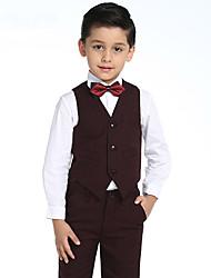 Baby Boys Clothing Set Cotton Boys ShirtsPants BowVest Suit Set