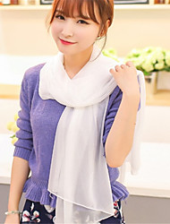 Fashion Wild Candy-Colored Solid Color Phosphor Crystal Yarn Scarves In Autumn And Winter Scarf Ms.