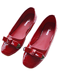Women Flats Shoes Square Toe Slip-On Flat Dance shoes