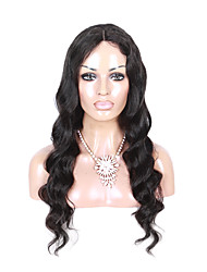 Body Wave U-Part Lace Front Human Hair Wigs Brazilian Middle Part Lace Front Wigs