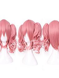 50cm inu x Boku ss roromiya karuta belle perruque cosplay perruque costume suncos court animé avec 2 ponytails