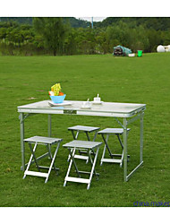 mesa de camping plegable