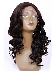 8-12 inch Braizlian virgin remy human hair glueless /lace front new big wave side part wigs for African Americans